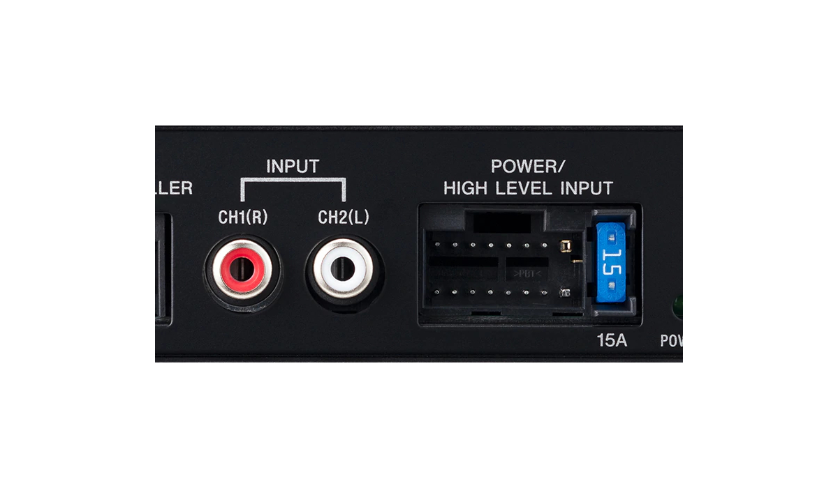 High level input/Audio line input